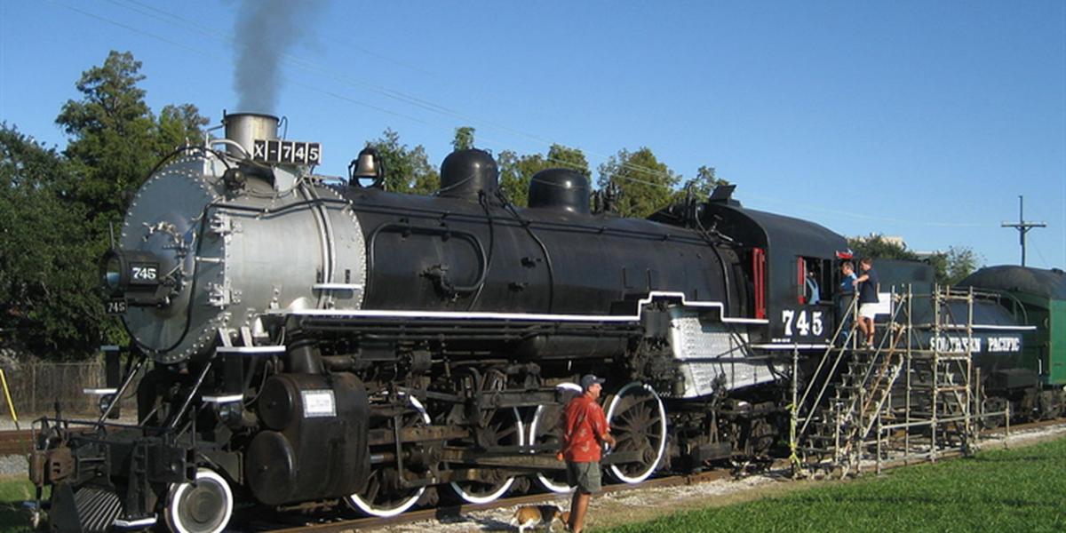 Heart of Louisiana: Locomotive 745