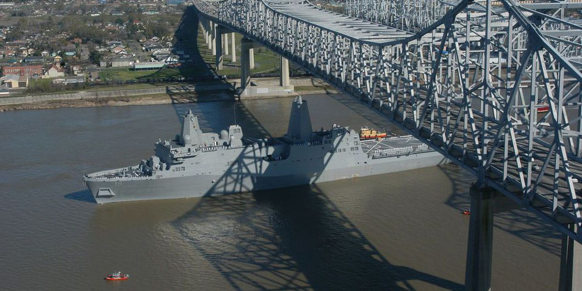 USS New Orleans wraps up sea trials in Pacific
