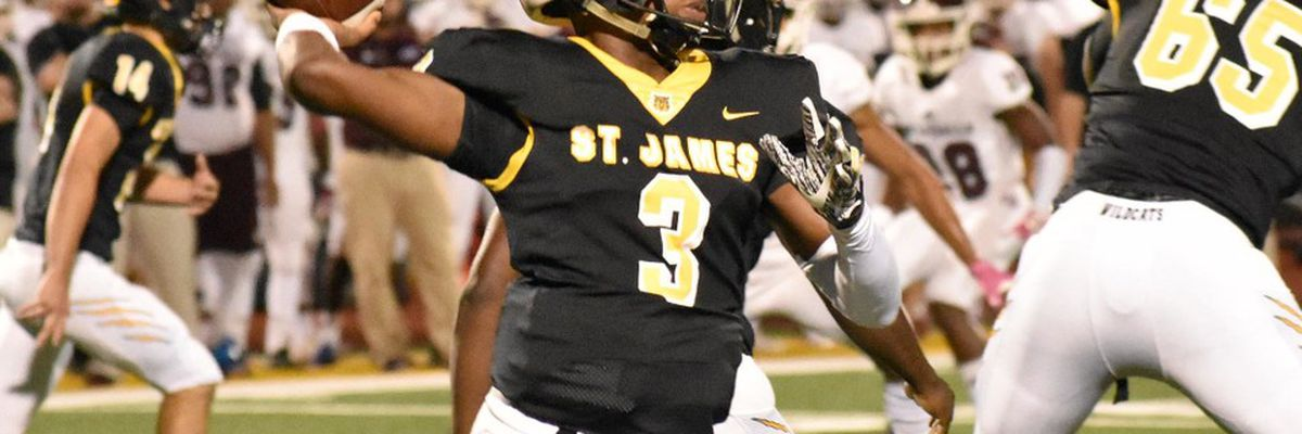 De La Salle visits St. James in our FOX 8 Football Friday game of the week