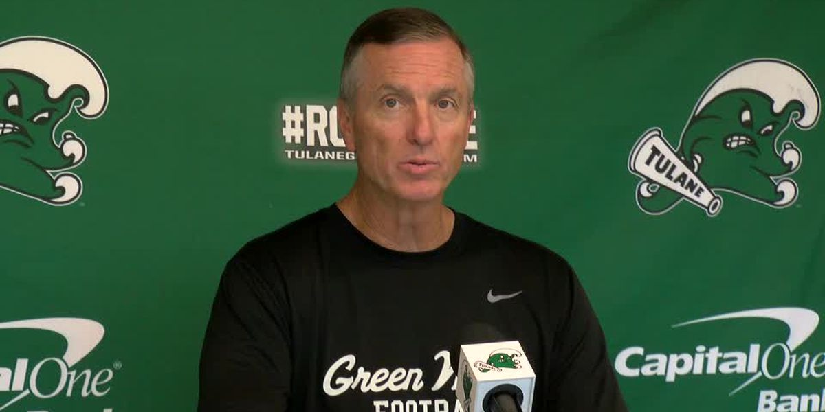 Coach Willie Fritz previews Tulane's matchup against Tulsa