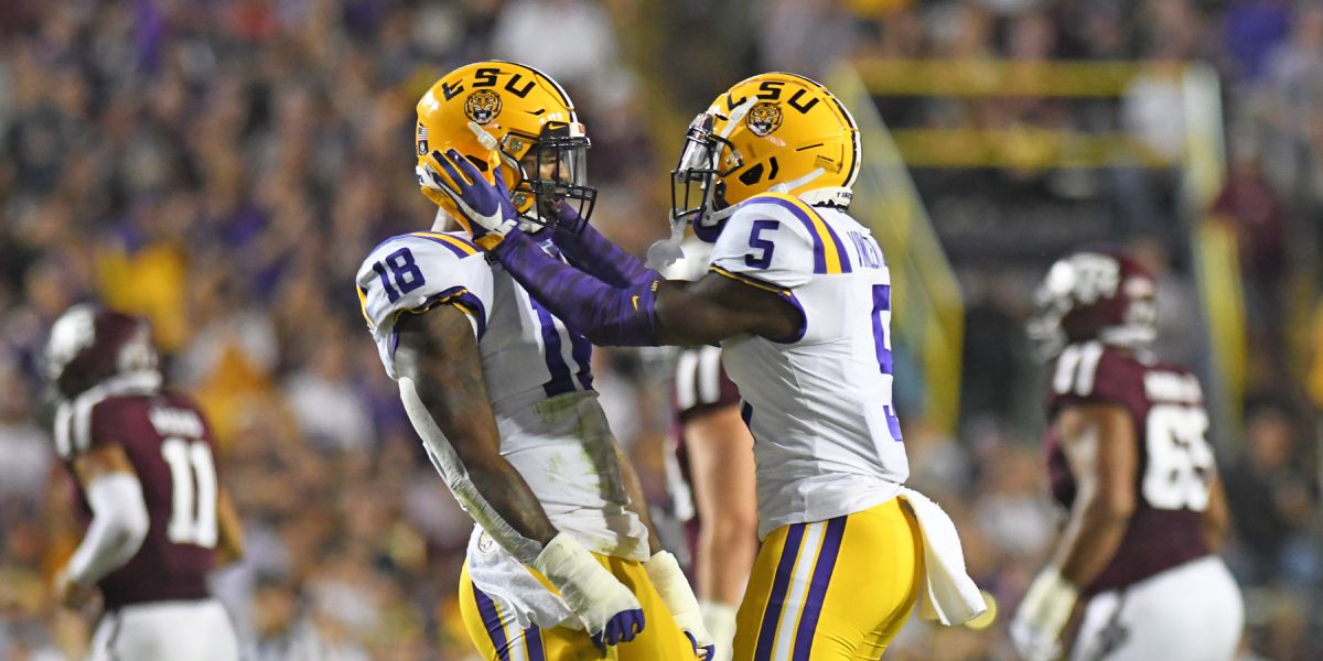 LSU absolutely dominates Texas A&M to finish regular season, 12-0