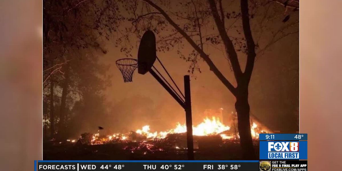 Paradise CA native family loses everything in fires