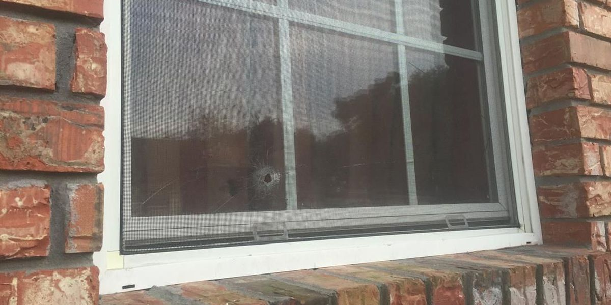 Stray bullets hit child, enter a home