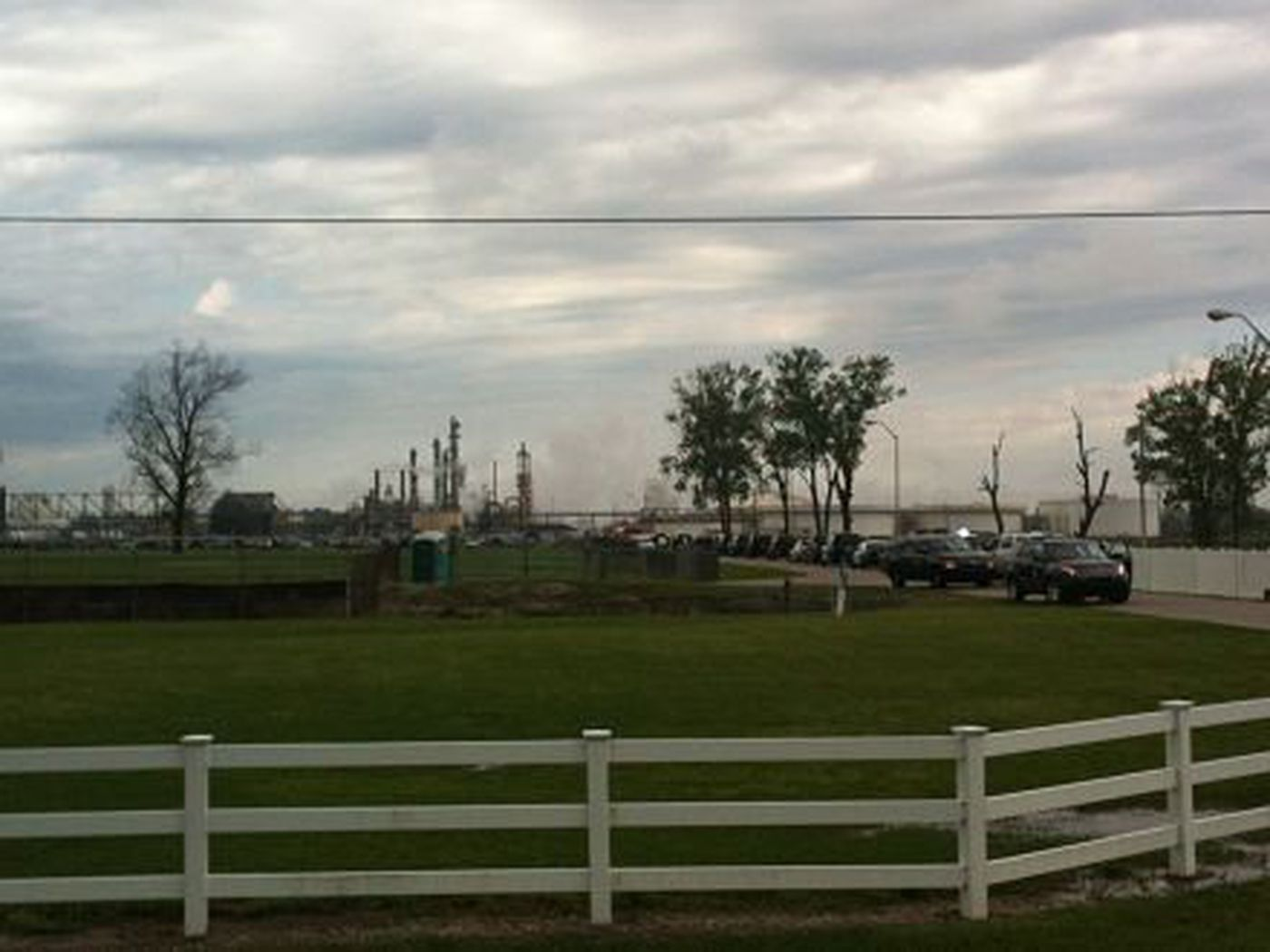 Explosion And Chemical Fire At Geismar Plant
