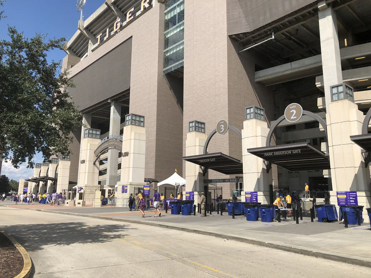 Fans describe Saturday outside Tiger Stadium as 'weird' and 'quiet'