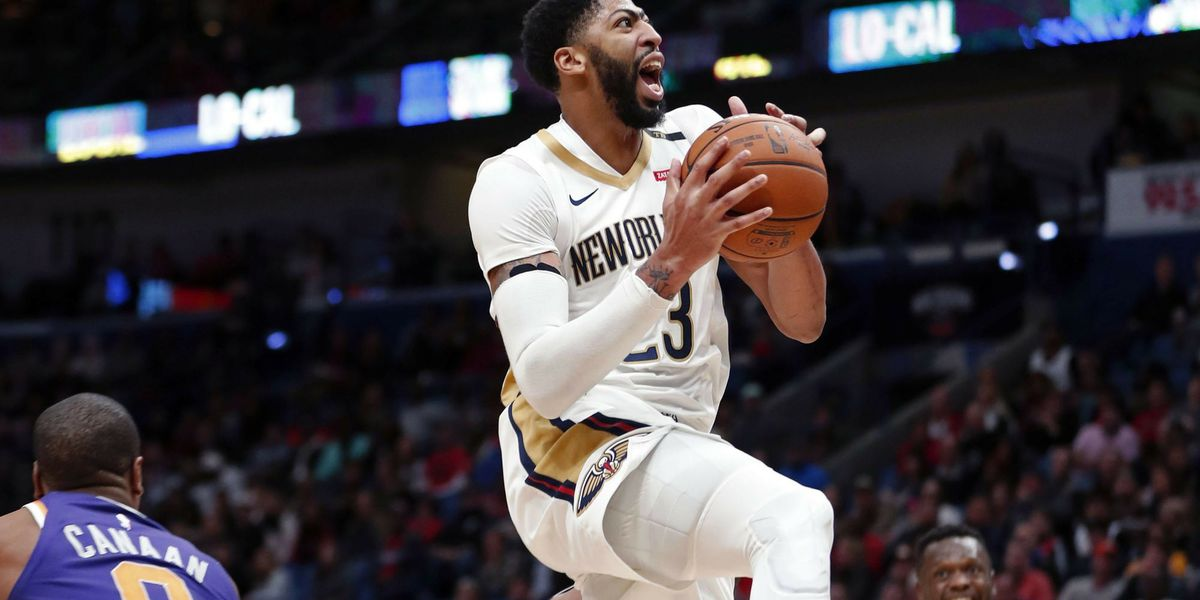 Anthony Davis named Western Conference Player of the Week