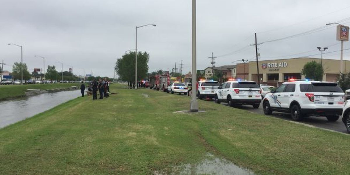 Body discovered in Metairie canal