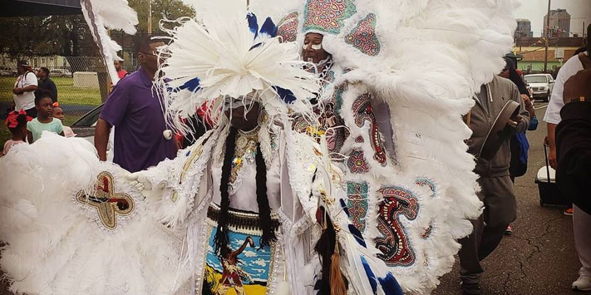 Mardi Gras Indians Take to the Streets