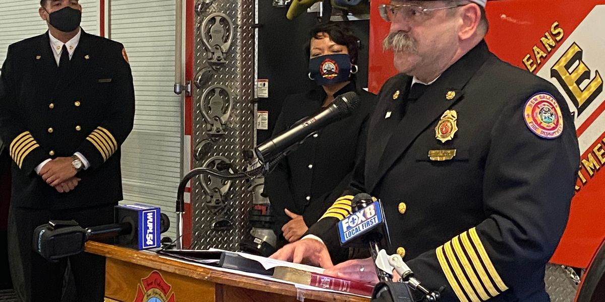 NOFD Chief Tim McConnell retires after 36 years of service, interim superintendent named