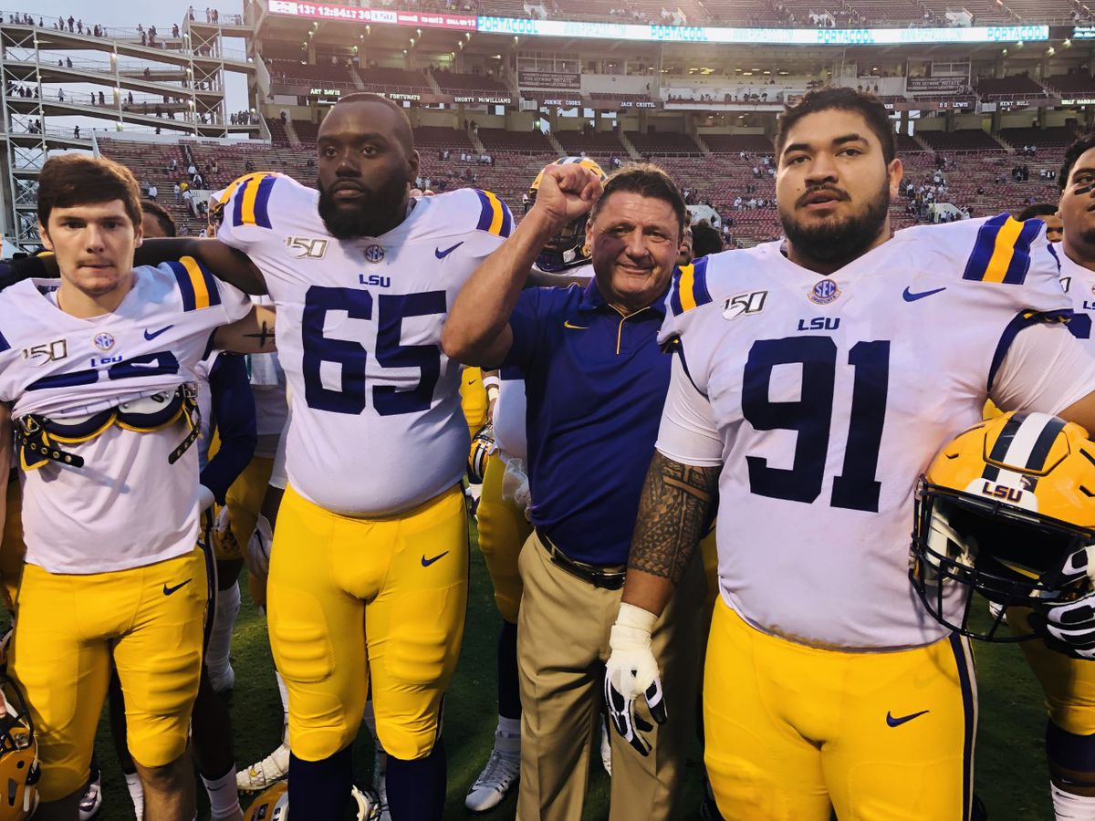 LSU holds No. 1 spot in Garland Gillen's AP rankings