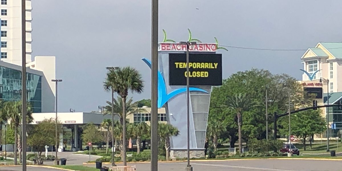 Mississippi Gulf Coast faces the economic impact of shutting down bustling casinos