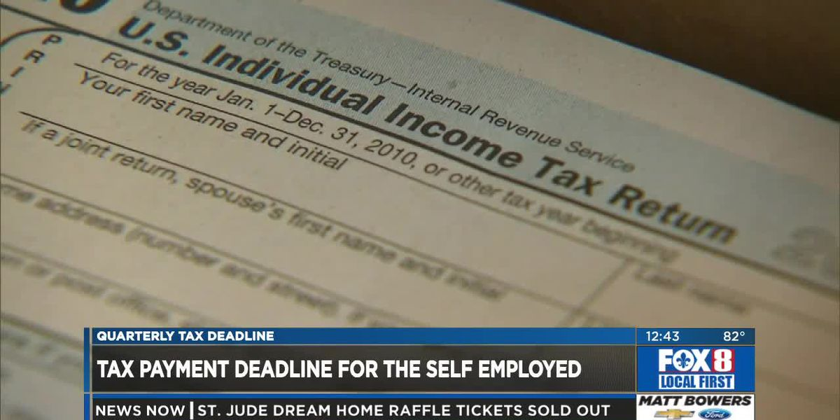 Tax payment deadline for those self-employed - Connor Brown