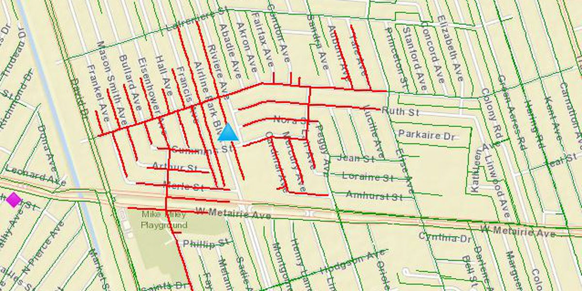 Power restored to most residents in Jefferson Parish