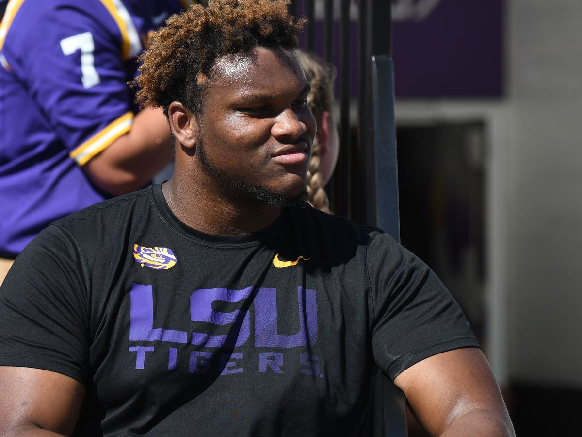 LSU reports suspended OL Ed Ingram has been reinstated to the team