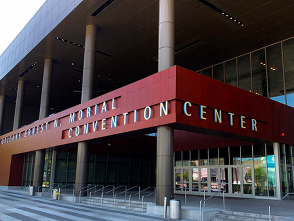 Convention Center opens to recovering COVID-19 patients