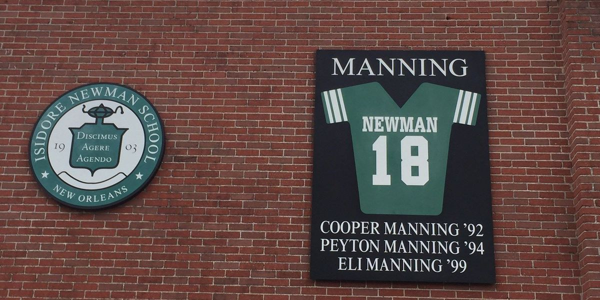 Manning's high school basking in Super Bowl run