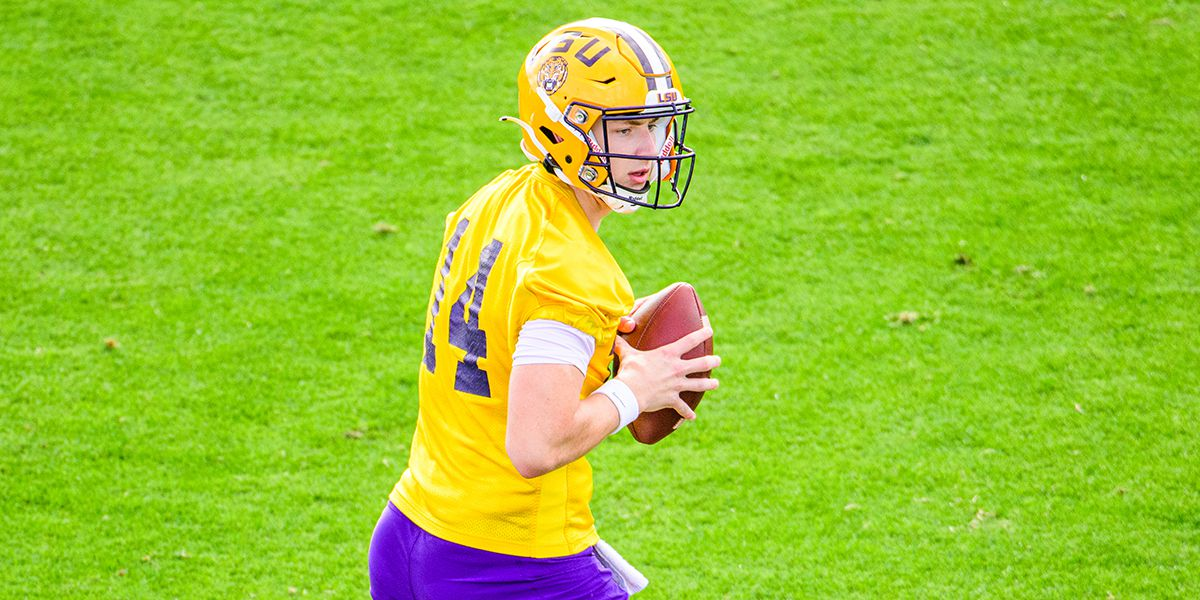 QB's Johnson and Brennan shine at LSU spring game