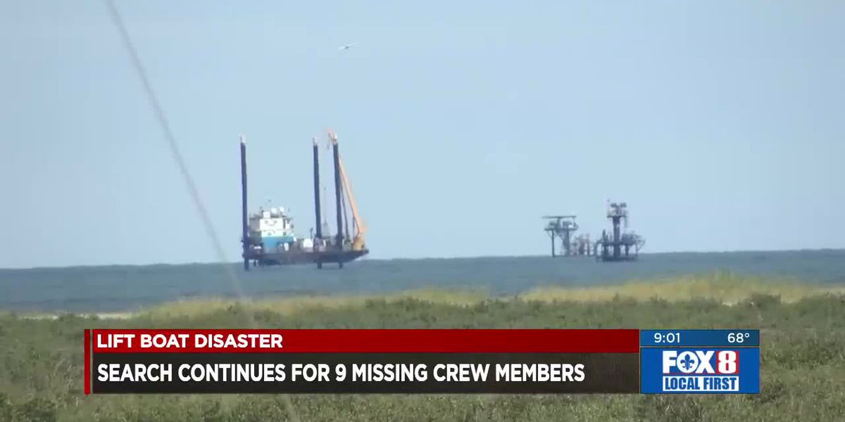 Lift boat disaster latest for Sun. April 18 at 9 p.m.