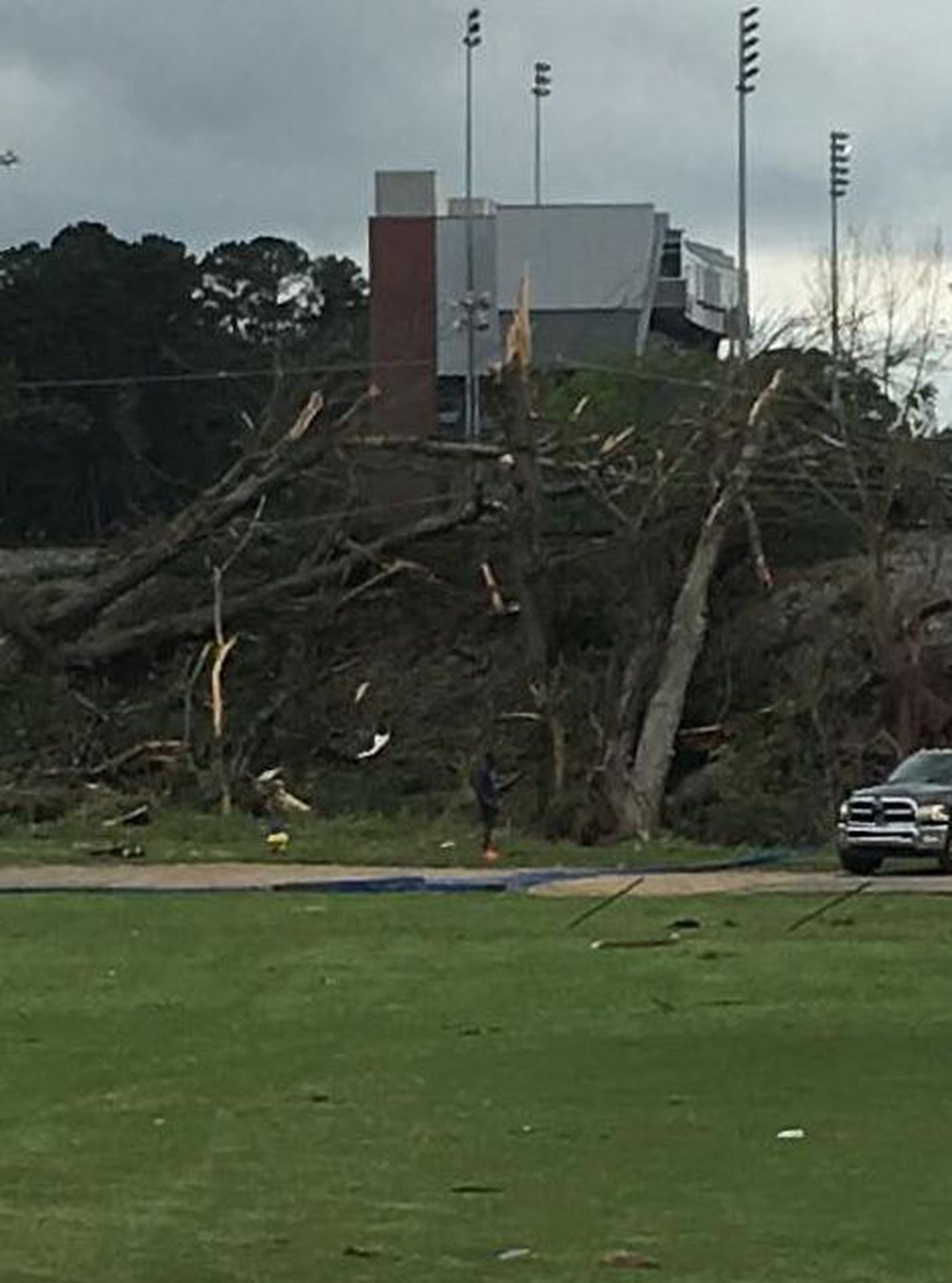 La Tech University >> Images La Tech University Damaged By Possible Tornado Thursday
