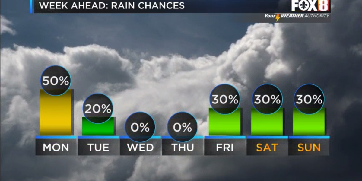 Nicondra: Hot temps and spotty storms to start the week