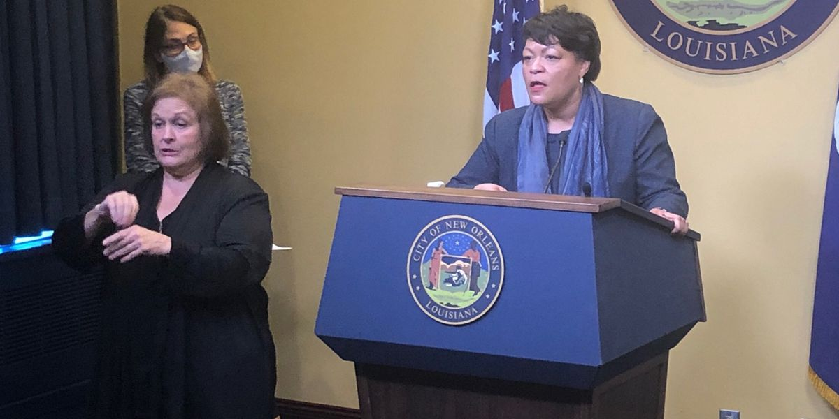 Mayor Cantrell to hold Wed. press conference at 4:30 p.m.