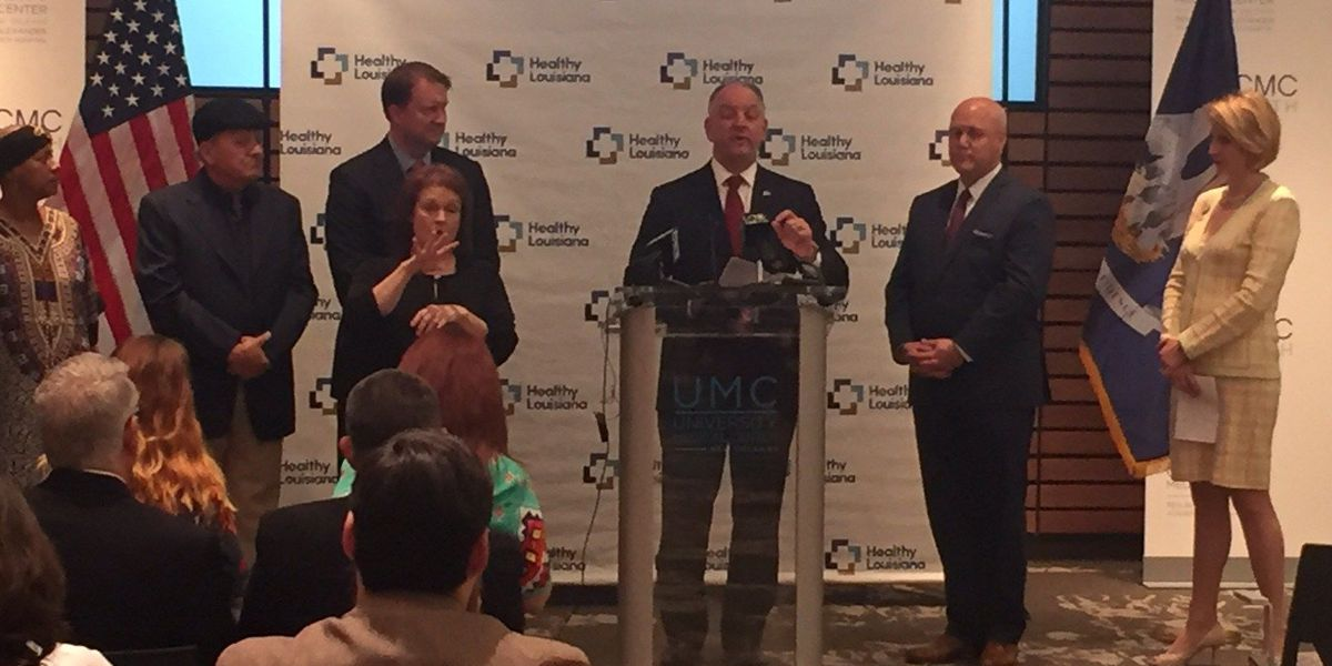 Gov. John Bel Edwards marks 1 year anniversary of Medicaid expansion