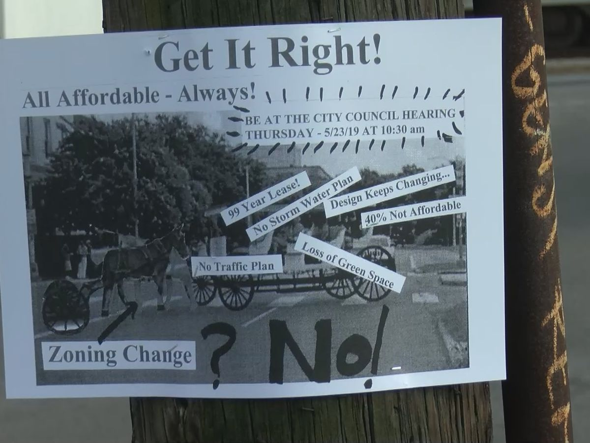 Residents concerned as City council to take up zoning change for Bywater housing complex