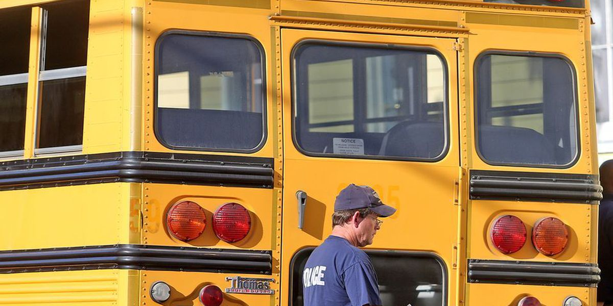 Teenager in critical condition after jumping out of school bus