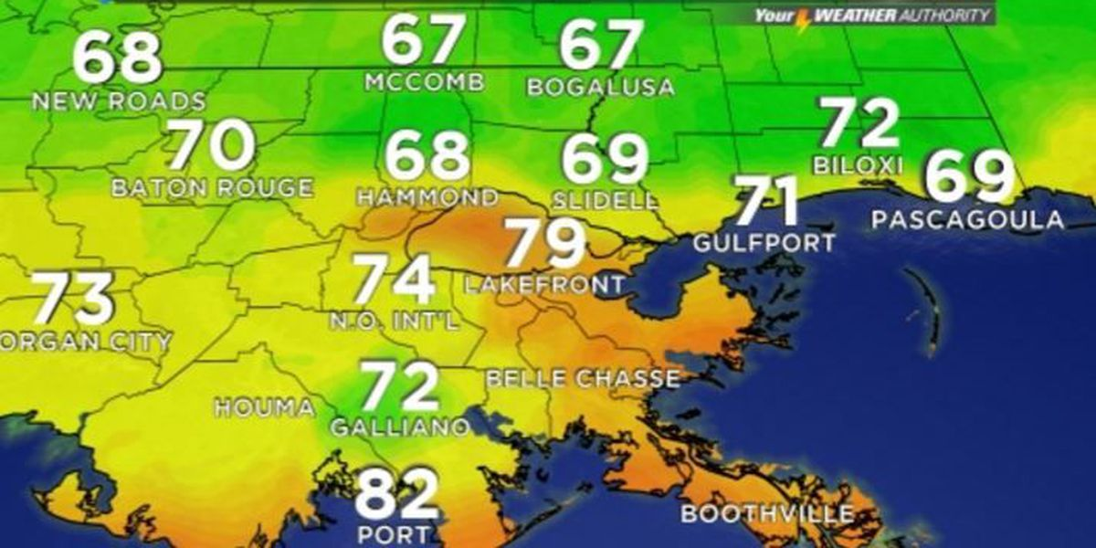 Your Weather Authority: Sunny and dry through Labor Day
