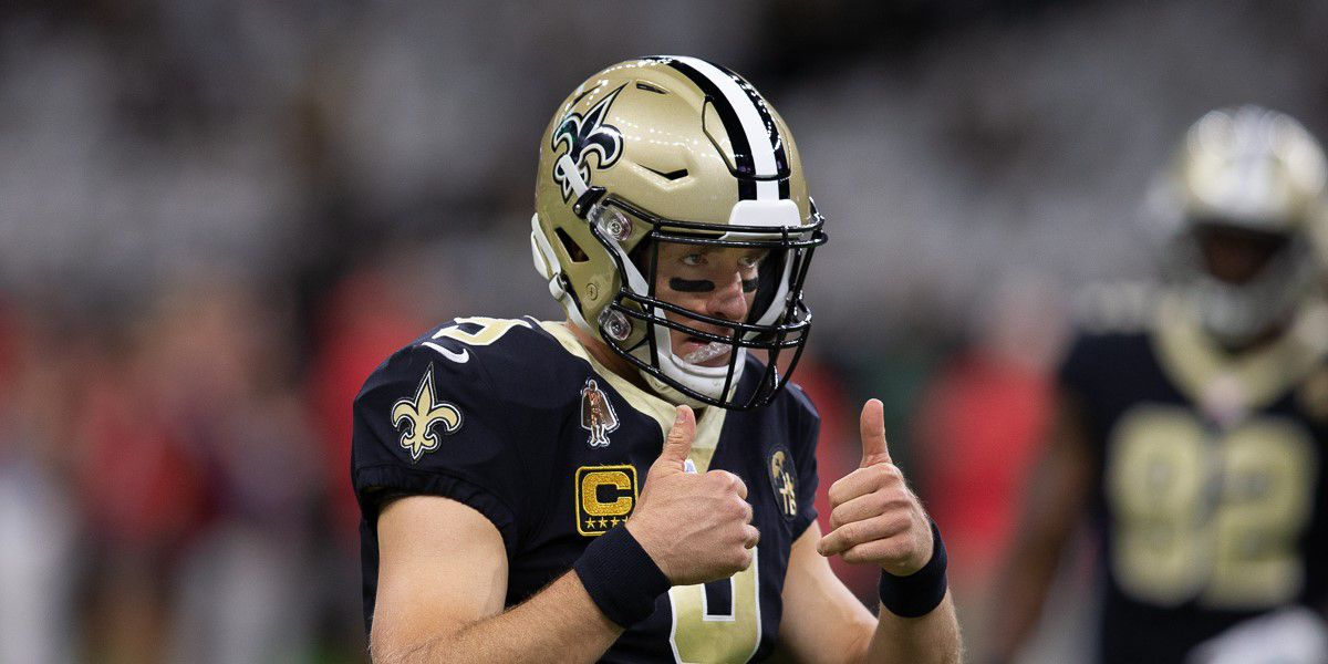VIDEO: Drew Brees pregame speech gets his teammates fired up