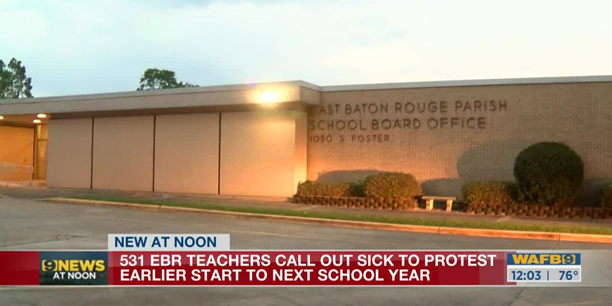 Hundreds of EBR teachers call in sick