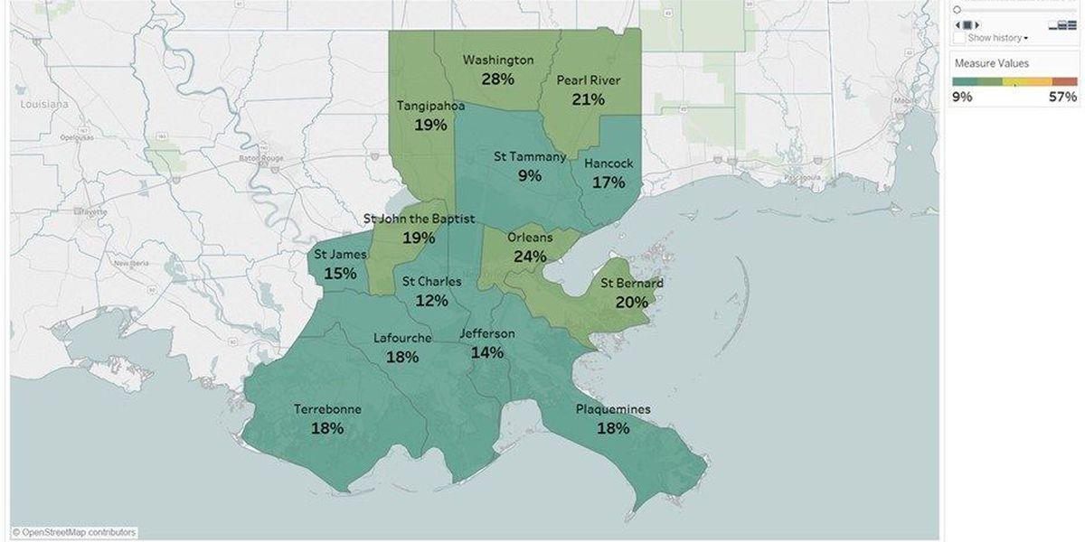 New study sheds light on poverty levels in New Orleans
