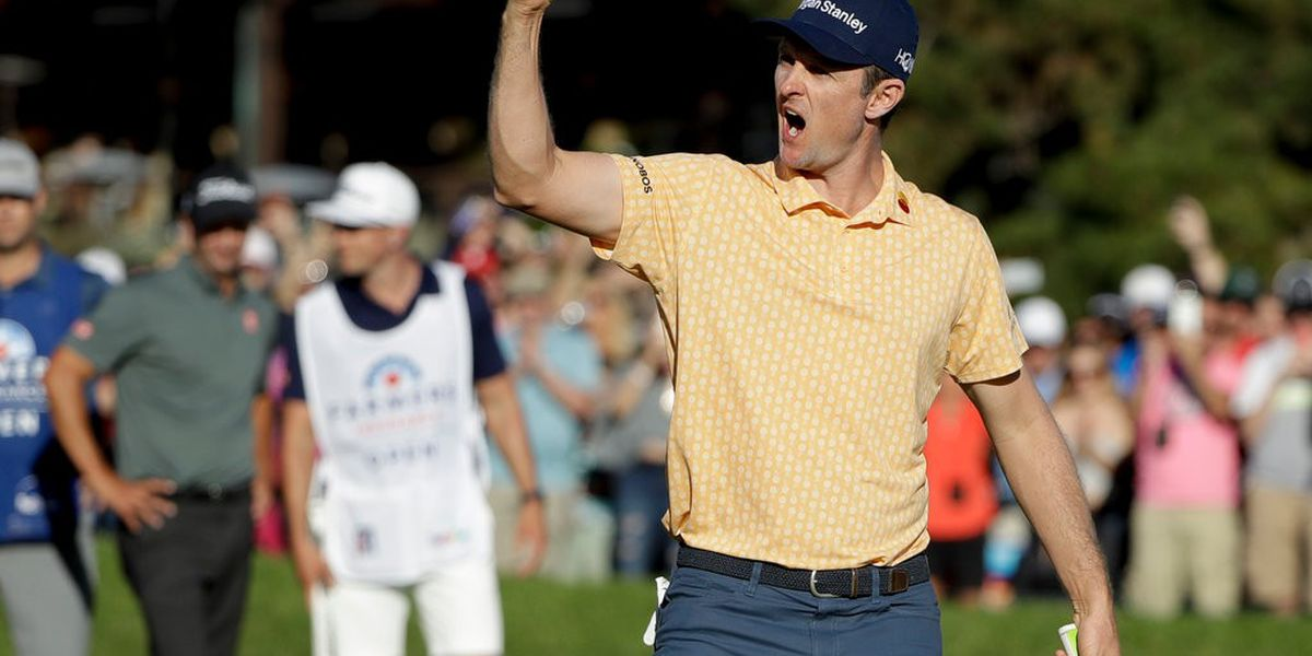 Justin Rose wins at Torrey Pines