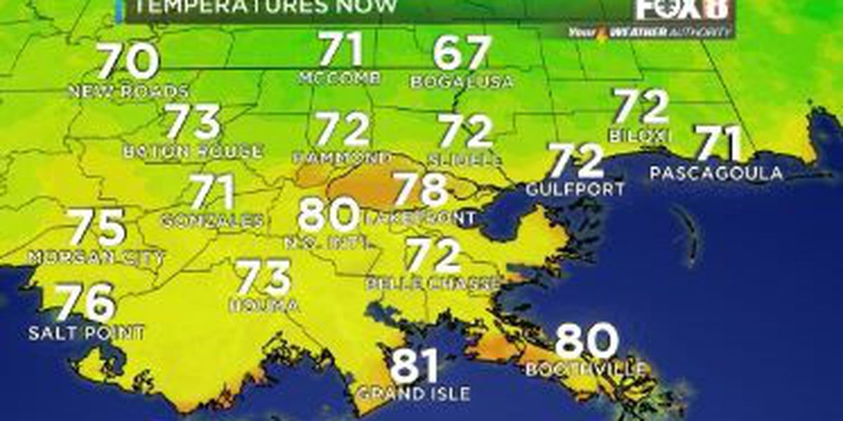 Your Weather Authority: Warmer, muggier with above normal temperatures