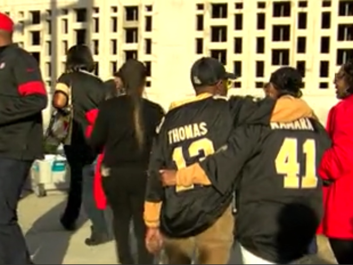 WATCH: Fans react to Saints close loss to the 49ers