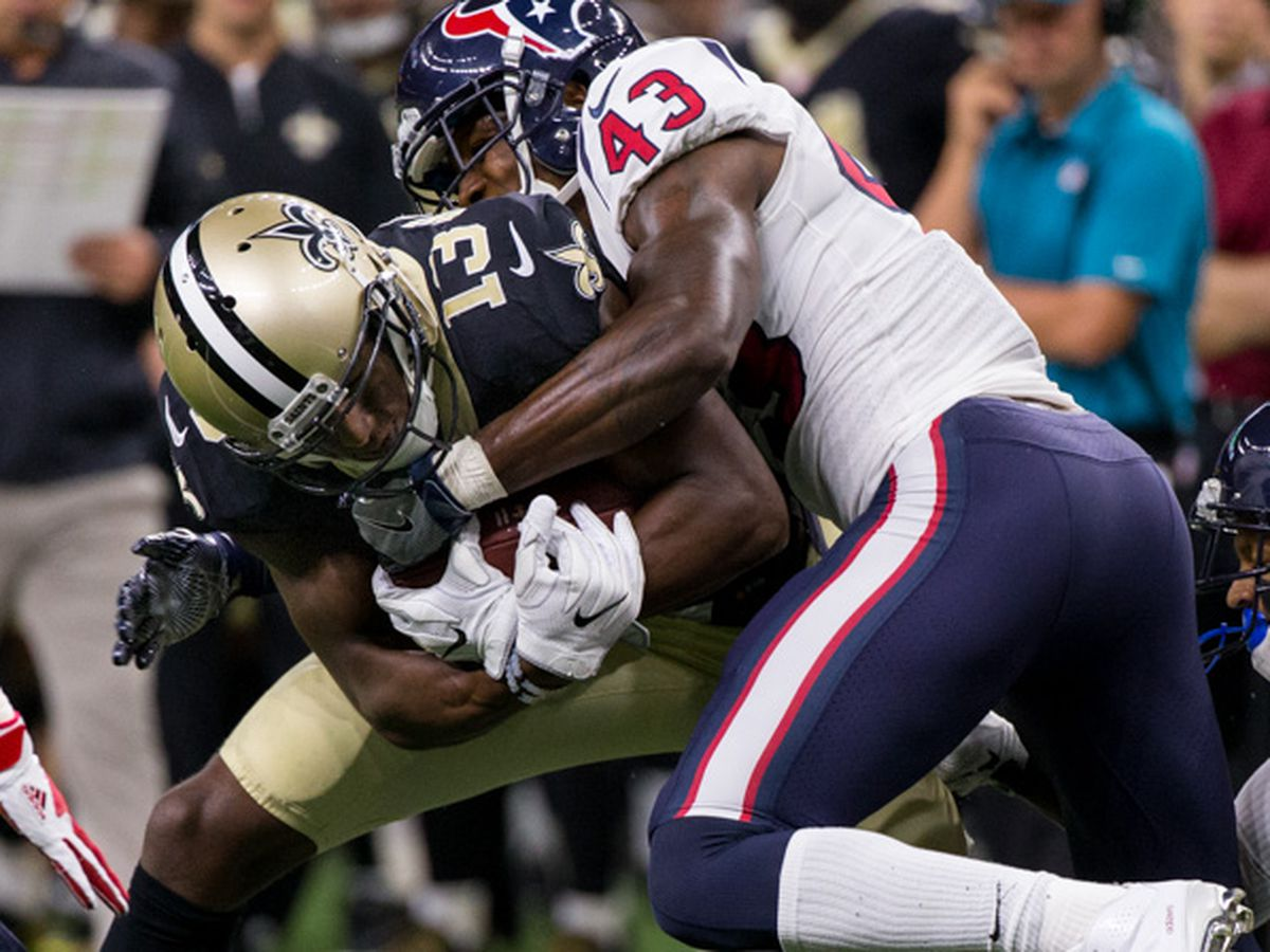 Saints favored by 7.5-points over Texans in week 1 matchup on MNF