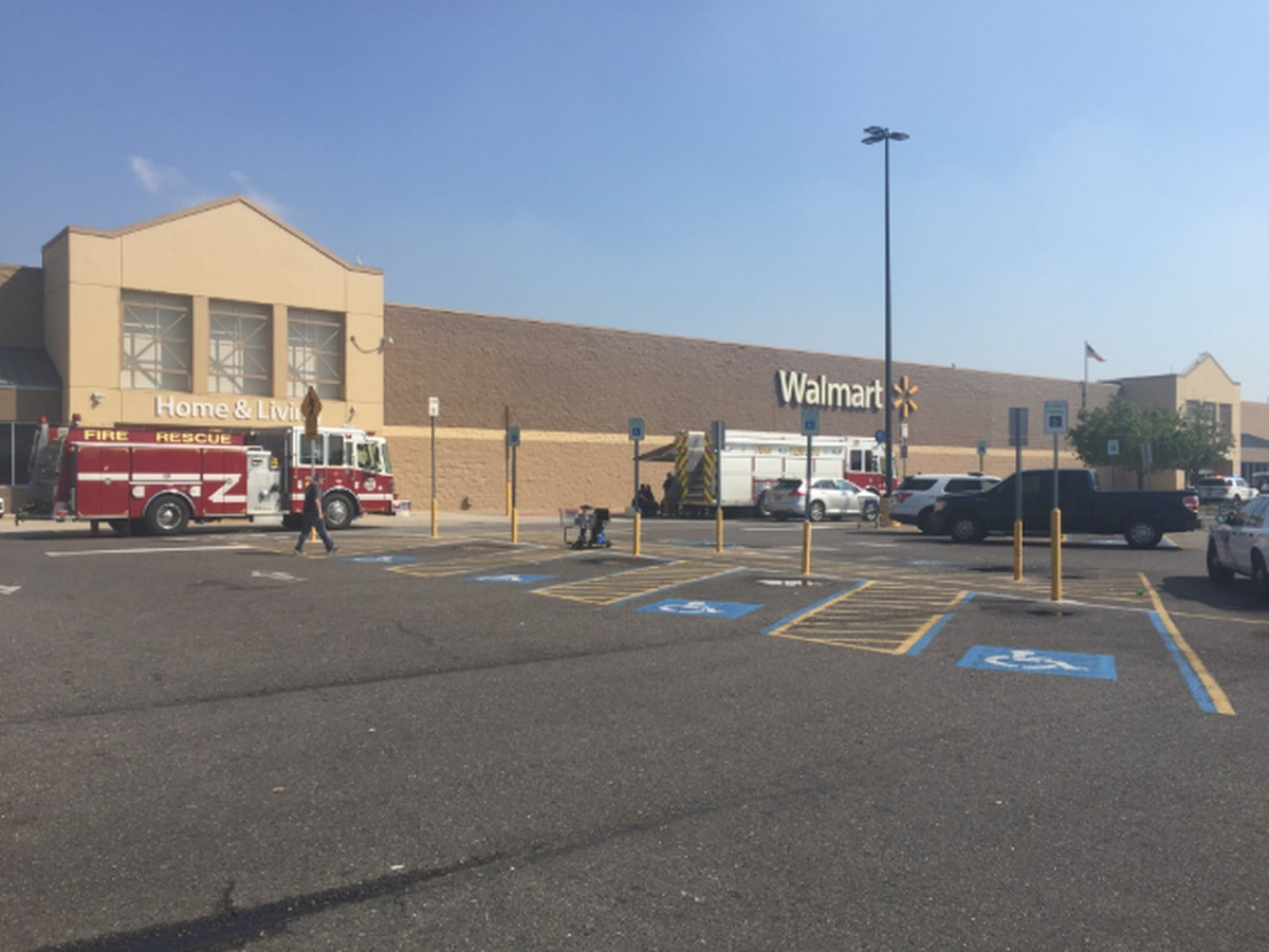 Halloween section catches fire in Marrero Walmart