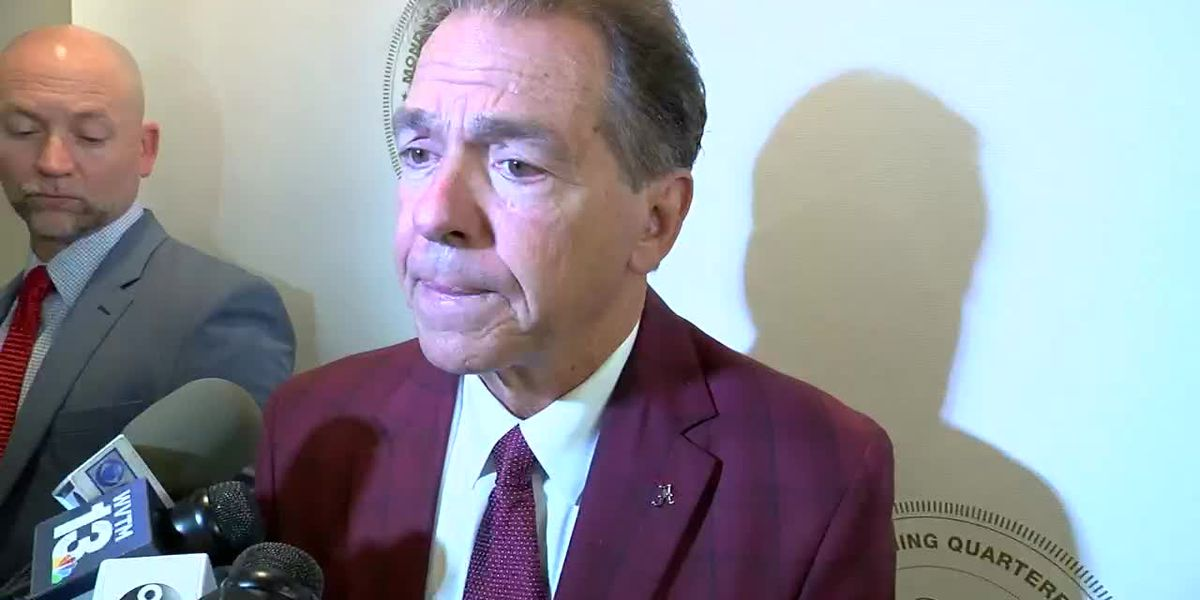 Bama coach Nick Saban gets chippy over questions about Tua's playing availability