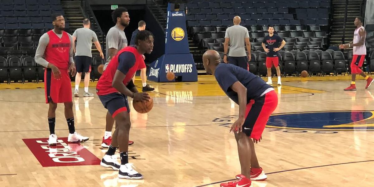 Pelicans take relaxed, confident attitude into Game 2