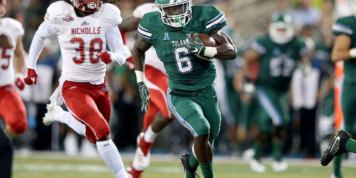 Tulane registers first victory of the season against Nicholls