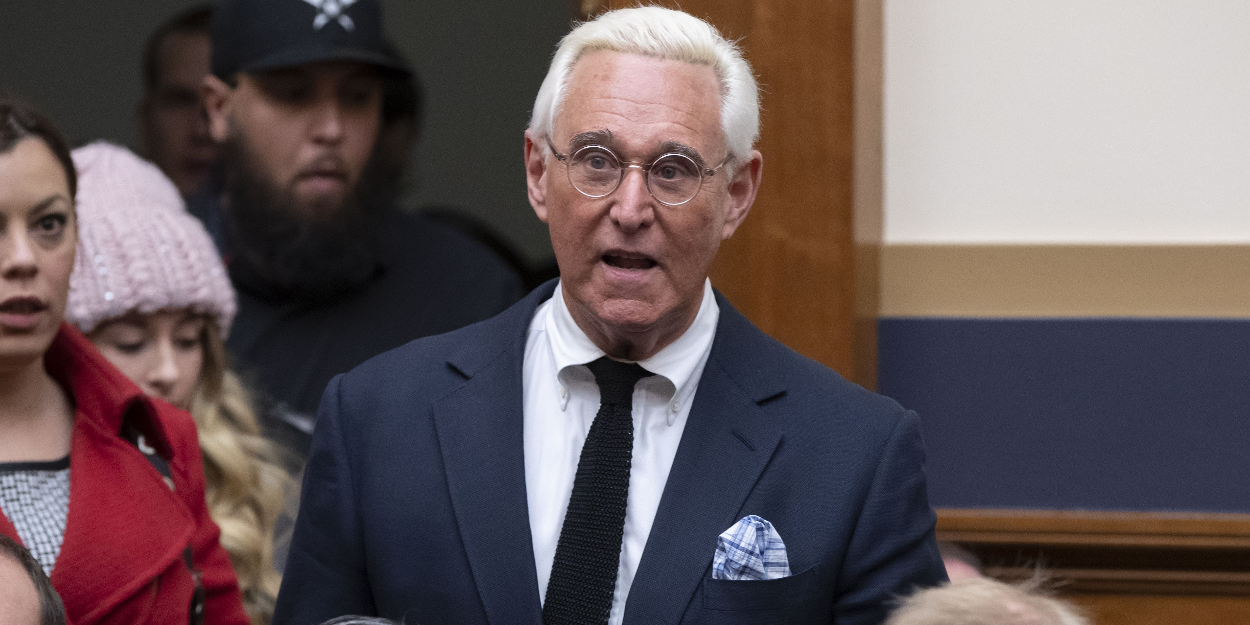 Roger Stone charged in Russia probe, vows to fight prosecution