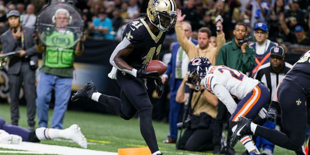 Saints escape with a 20-12 victory over the Bears