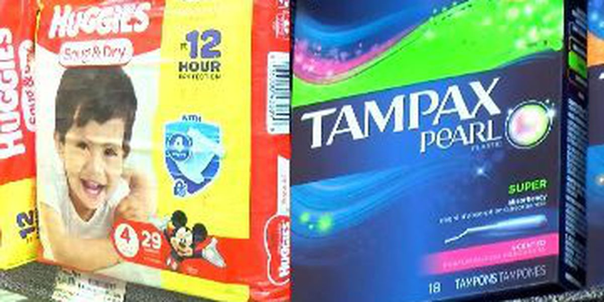 Lawmaker wants tax exemptions for diapers, feminine products