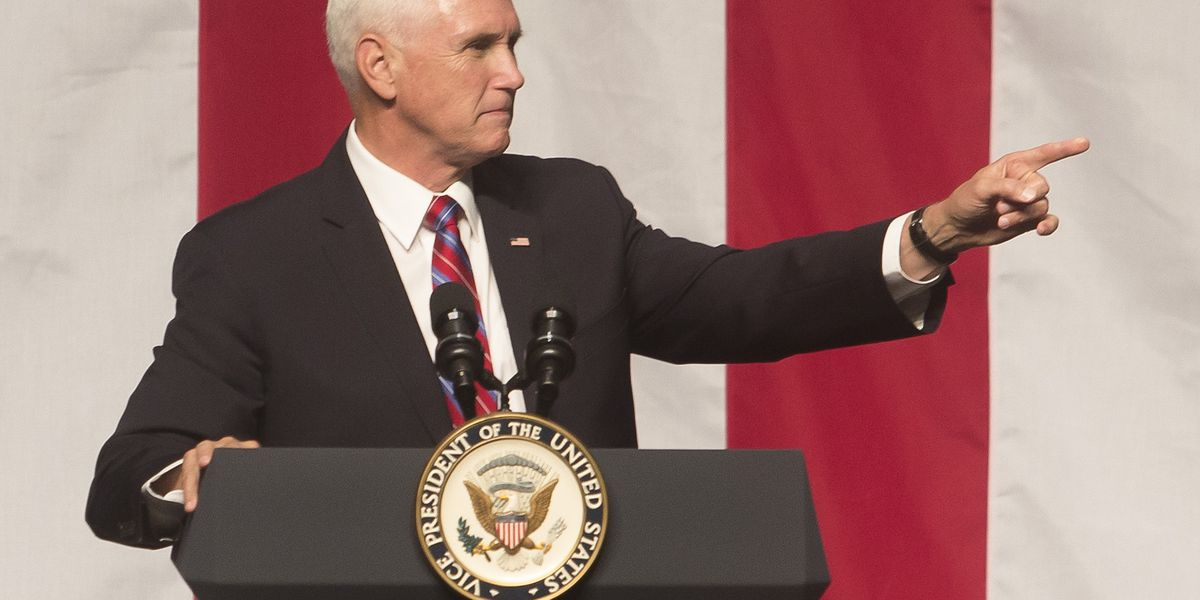 Vice President Pence rallies for GOP in Kenner