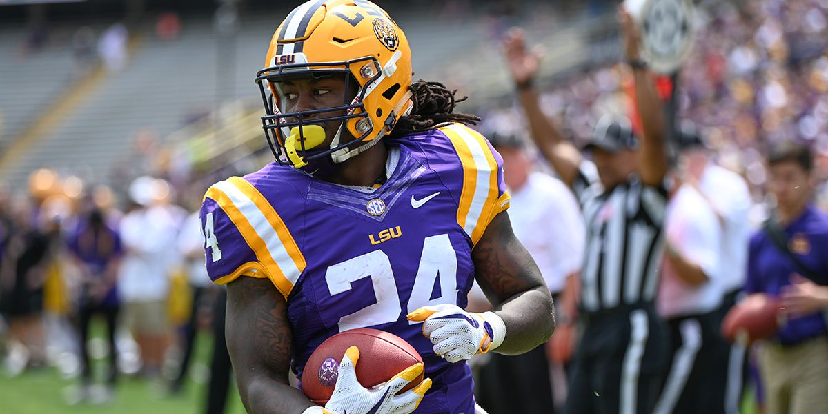 Chris Curry looks to be serious contender for LSU starting running back position