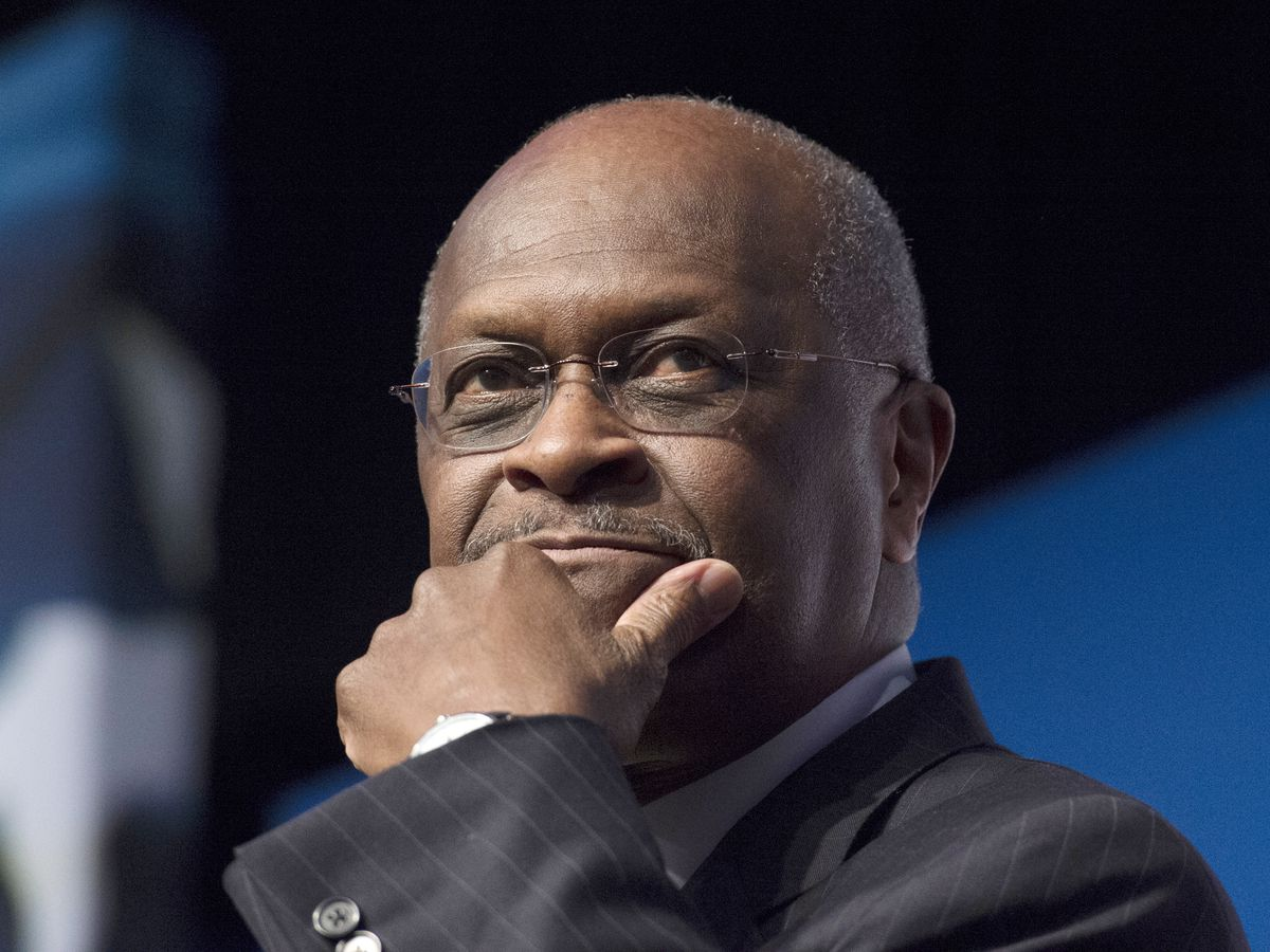 Herman Cain is hospitalized with coronavirus