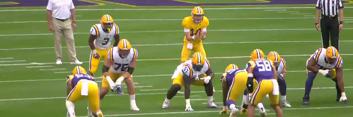 QB's show out in LSU spring game