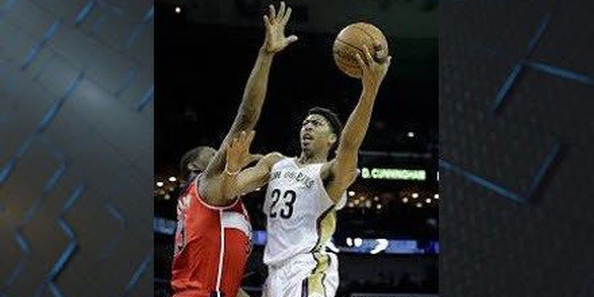 Pelicans end skid, beat Pistons at home