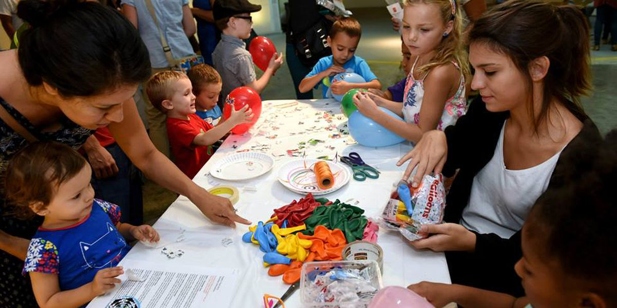 Free family day at the Ogden Museum of Southern Art in November