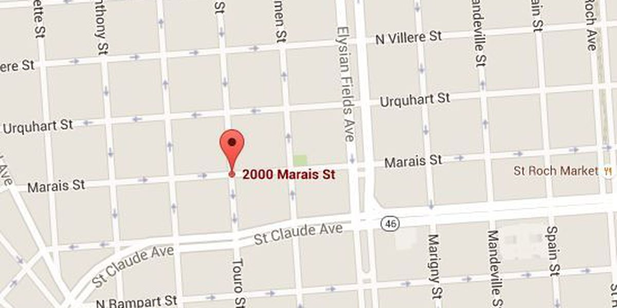 New Orleans police investigate a Seventh Ward carjacking